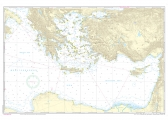 Passage Chart 3 Mediterranean East - Sicily to Greece, Adriatic Sea