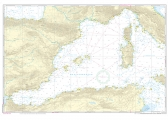 Passage Chart 4 Mediterranean West - Gibraltar to Sicily, Adriatic Sea