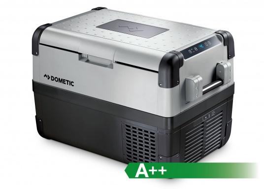 Hightech-Kühlung im Heavy-Duty Gehäuse!Die KompressorboxCFX-50 bieten Normal- und Tiefkühltemperaturen von bis zu -22 °C und das bei Energieklasse A++.