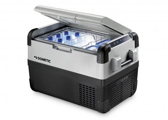 Hightech-Kühlung im Heavy-Duty Gehäuse!Die KompressorboxCFX-50 bieten Normal- und Tiefkühltemperaturen von bis zu -22 °C und das bei Energieklasse A++.  (Bild 2 von 4)