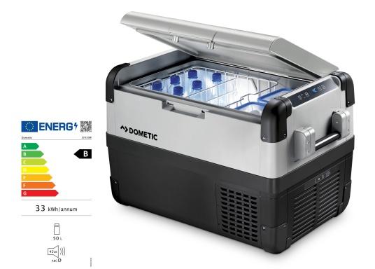 Les glacières WAECO CoolFreeze CFX ont faites pour un usage intensif ! Ce sont de véritables réfrigérateurs mobiles avec un compartiment -22°C et une efficacité énergétique classe B.  (Image 5 de 5)