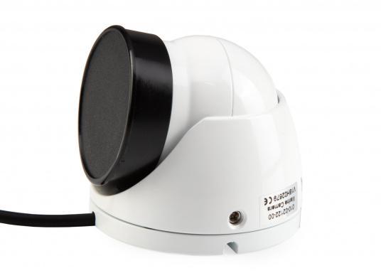 GC™ 12 Marinekamera von GARMIN bietet Ihnen einen ausgezeichneten Überblick über alles was an Bord oder in dessen Nähe geschieht. Die Bilder können Sie einfach an Ihr kompatibles Multifunktionsdisplay senden und so Ihr Boot perfekt überwachen. (Bild 2 von 5)