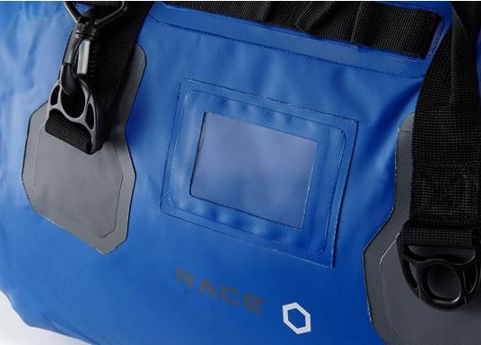 Ihr rasanter Reisebegleiter zur nächsten Regatta oder einfach für den Wochenendtörn: Die Tasche hat einen Inhalt von 60 Litern und besteht aus stichfestem, wasserdichtem PVC- Tarpulin und hat komplett geschweißte Nähte. (Bild 3 von 6)