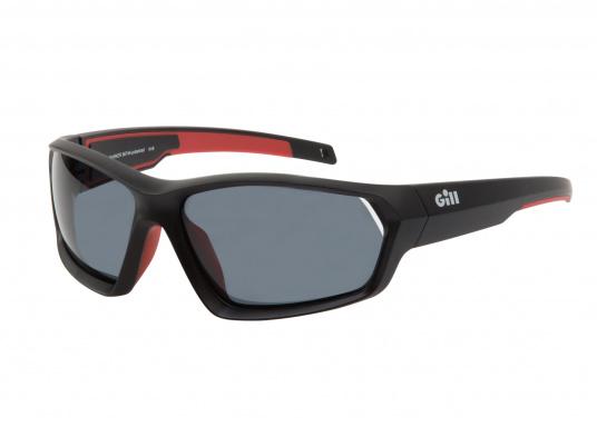 Die Sonnenbrille MARKER von Gill verfügt über eine modische Optik, die Fähigkeit zu schwimmen und bietet einen 100%-igen UV-Schutz. Farbe: schwarz. (Bild 3 von 4)