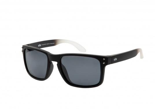 Die Sonnenbrille Kyndance steht nicht nur für Funktionalität, sondern überzeugt auch mit modischer Optik. Die polarisierten Gläser schützen zuverlässig vor UV-Strahlen. Somit ist die Sonnenbrille auch bei grellem Licht bestens geeignet. Farbe: schwarz.