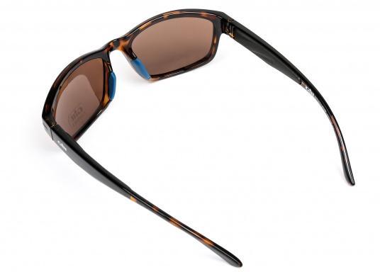Die Sonnenbrille REFLEX II von Gill vereint Komfort und Stil!Helles Licht wird von den hochwertigen Gläsern blockiert, ohne dabei die Farben zu verfälschen und der Blendeffekt sowie die Spiegelungen werden als nicht mehr störend empfunden.Zusätzlich bietet die Sonnnebrille einen UV-Schutz von 400+.Farbe: matt-tortise. (Bild 4 von 5)
