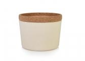 Image of STORE & STACK Bamboo Containers / coconut white