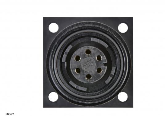Zusatz-Steckdose für Ihre EV020 Handfernbedienung / 6-polig.