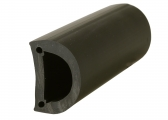 Dock Fender, round / black