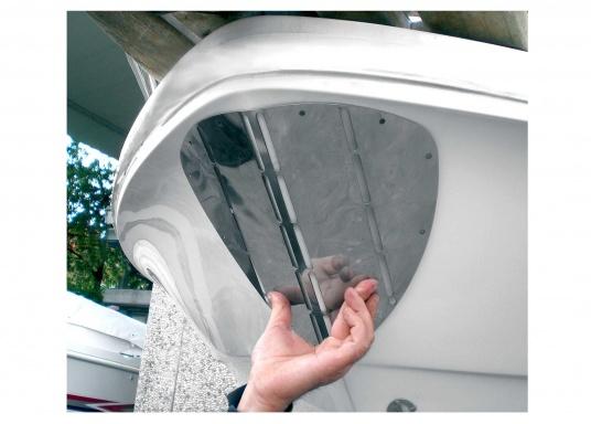 Keine Kratzer mehr am Rumpf! Diese Bug-Protektoren schützen den Rumpf Ihres Bootes beim Hoch- und Herablassen des Ankers.