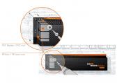 Défense de ponton DF B 110/20 / noir