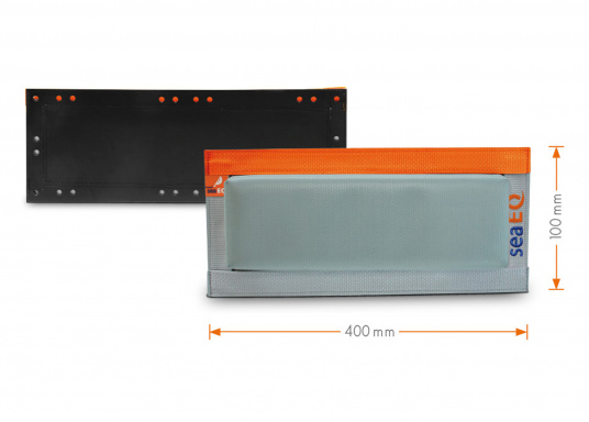 Mit den SeaEQ Langfendern schützen Sie Ihr Boot und Ihren Liegeplatz optimal vor Beschädigungen. Erhältlich in verschiedenen Größen: 40/10, 80/10 und 110/10. (Bild 2 von 8)