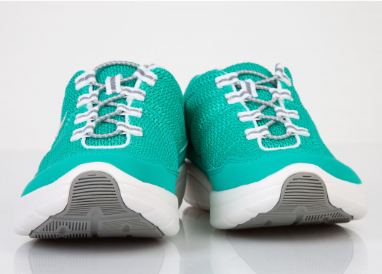 Ein superleichter Boots-Sneaker mit der Gummi Grip Sohlen Technologie von LIZARD bietet hervorragenden Halt auf jeder Oberfläche. Material: Mesh, Mikrofaser. Farbe: pool blau (Bild 6 von 6)