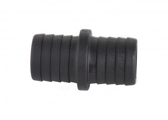 Hohe Festigkeit und geringes Gewicht! Die hochwertigen, geraden Schlauchverbinder von TruDesign bestehen aus glasfaserverstärkten Nylon-Verbundstoff und sind in in unterschiedlichen Grüßen erhältlich. (Bild 12 von 14)