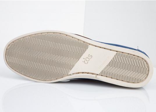 Ein authentischer und stylischer TBS-Decksschuh. Die patentierte Technigrip®-Sohle bietet den optimalen Halt und Wiederstandfähigkeit. Trotz der soliden Sohle, bleibt der Schuh flexibel und angenehm zu tragen. Farbe: cobalt blau. Erhältlich in den Größen: 41 - 46. (Bild 3 von 5)