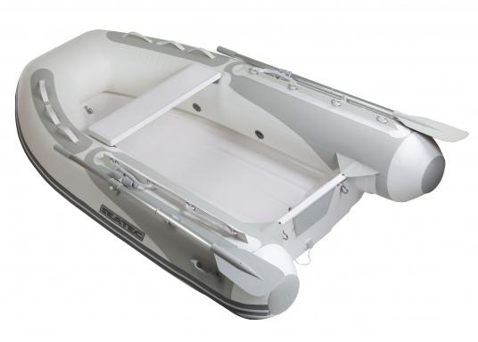The new SEATEC PRO TENDER rigid inflatable boat series isn't just ideal for use as a tender vessel, but also for usage in excursions and fishing trips as well.  (Image 2 of 6)