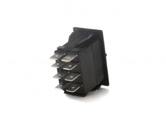 Wasser- und staubdichte CARLINGTECH Schalter, ON-OFF-ON, 2-polig. Mit neutraler LED.Geeignet für den uneingeschränkten Außen- und Inneneinsatz.Erhältlich in verschiedenen Ausführungen.  (Bild 5 von 7)