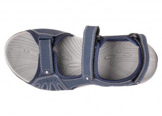 Bequeme Sandale für den vielseitigen Einsatz an Bord oder für den Landgang. Gefertigt aus salzwasserbeständigem und schnelltrocknendem Obermaterial. (Bild 2 von 6)