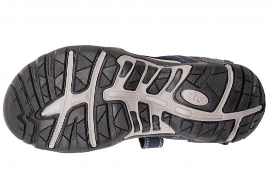 Bequeme Sandale für den vielseitigen Einsatz an Bord oder für den Landgang. Gefertigt aus salzwasserbeständigem und schnelltrocknendem Obermaterial. (Bild 5 von 6)