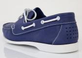 Bootsschuh PIETRA / myrtille blau