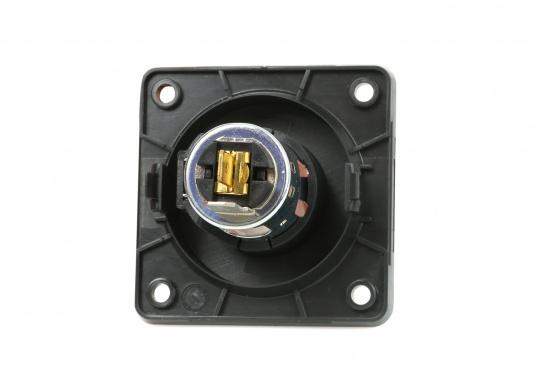 BERKERZigarettenanzündersteckdose passend für die INTEGRO FLOW Serie. DieZigarettenanzündersteckdose ist für 12 V und 24 V Netze geeignet.  (Bild 2 von 2)