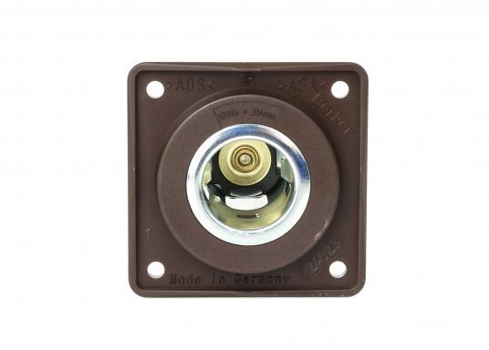 BERKERZigarettenanzündersteckdose passend für die INTEGRO FLOW Serie. DieZigarettenanzündersteckdose ist für 12 V und 24 V Netze geeignet.