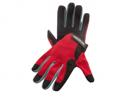 Der Handschuh TEAM sorgt dank der Amara® Handflächen jederzeit für einen sicheren Griff. Durch das flexible Mesh am Handrücken bietet der Handschuh eine exzellente Passform und ist zudem besonders atmungsaktiv. Version: mit Finger.