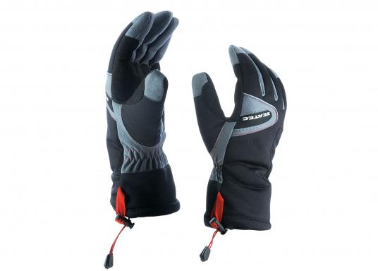 Vielseitig verwendbarer Handschuh für alle Wetterbedingungen. Wasserdicht, flexibel, komfortabel zu tragen und daher perfekt für lange Zeiten am Ruder geeignet. (Bild 5 von 6)