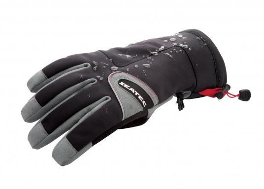 Vielseitig verwendbarer Handschuh für alle Wetterbedingungen. Wasserdicht, flexibel, komfortabel zu tragen und daher perfekt für lange Zeiten am Ruder geeignet. (Bild 6 von 6)