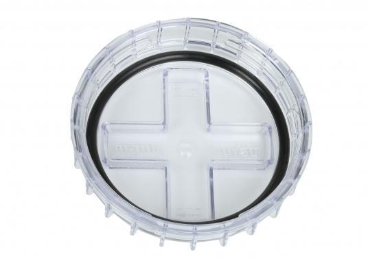 Originaler und passender Ersatzdeckel für den Seewasserfilter Typ 330 von VETUS. Lieferung inklusive Dichtring. (Bild 2 von 3)