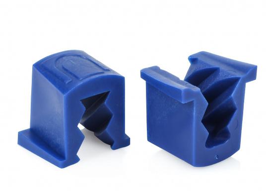 Passende und originale Ersatzklemmen für die RuckdämpferU-CLEAT.Im Lieferumfang sind zwei Ersatzklemmen enthalten. Erhältlich in unterschiedlichen Ausführungen.