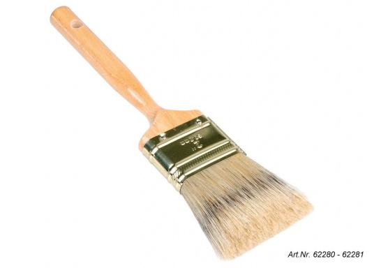 Eine Auswahl erstklassiger Pinsel für anspruchsvolle Maler- und Lackierarbeiten. Die hochwertigen Lackierpinsel eignen sich insbesondere für Klar- und Buntlackierarbeiten. Erhältlich in verschiedenen Ausführungen.  (Bild 3 von 5)
