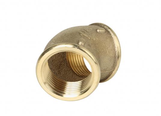 Coude 45° en cuivre CR avec filetages interne et externe. Plusieurs modèles disponibles. (Image 2 de 2)