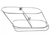 Fender Rack Stainless Steel, inclined, 2-section / starboard