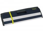 Faltbare Strandtasche / marineblau