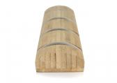 Colgador de bambú / 4 ganchos