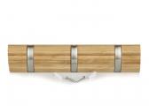Image of Bamboo Coat Rack / 3 hooks