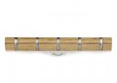 Afbeelding van Bamboo Coat Rack / 5 hooks
