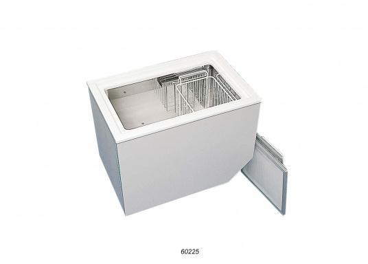 Isotherm Kompressor-Einbaukühlboxen für Normalkühlungwurden speziell für den Einbau in Küchenblöcke von kleinen Reisemobilen und Yachten entwickelt. Die Geräte zeichnen sich durch extrem niedrigen Stromverbrauch, Schräglagenunempfindlichkeit und außerordentliche Leistungsstärke aus.