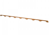 Bild von Teak-Handlauf 210 cm / 8 Griffe