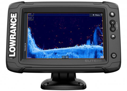 Das Display des EliteTi2bietet eine erweiterte, hochauflösende Sonar-Funktionalität, FishReveal, WLAN sowie die Anzeige von Anrufen und Textnachrichten per Bluetooth. Des Weiteren haben Sie die Möglichkeit über die NMEA2000-Konnektivität jegliche Art von Gebern anzuschließen und über die Seekartenanbieter Navionics oder C-Map sicher zu navigieren. Alles in allem enthält der Elite Ti2 sämtliche Funktionen, die Ihnen das Leben auf dem Wasser leichter machen. Lieferung ohne Geber. (Bild 2 von 6)