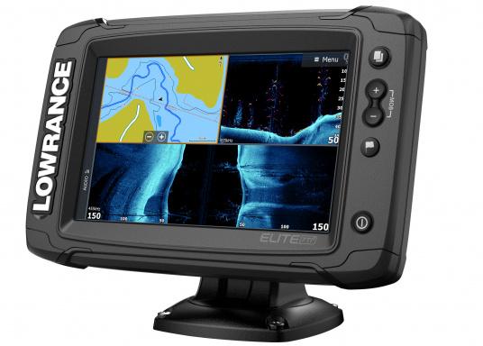 Das Display des EliteTi2bietet eine erweiterte, hochauflösende Sonar-Funktionalität, FishReveal, WLAN sowie die Anzeige von Anrufen und Textnachrichten per Bluetooth. Des Weiteren haben Sie die Möglichkeit über die NMEA2000-Konnektivität jegliche Art von Gebern anzuschließen und über die Seekartenanbieter Navionics oder C-Map sicher zu navigieren. Alles in allem enthält der Elite Ti2 sämtliche Funktionen, die Ihnen das Leben auf dem Wasser leichter machen. Lieferung ohne Geber. (Bild 4 von 6)