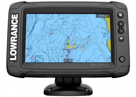 Das Display des EliteTi2bietet eine erweiterte, hochauflösende Sonar-Funktionalität,FishReveal, WLAN sowie die Anzeige von Anrufen und Textnachrichten per Bluetooth. Des Weiteren haben Sie die Möglichkeit über die NMEA2000-Konnektivität jegliche Art von Gebern anzuschließen und über die Seekartenanbieter Navionics oder C-Map sicher zu navigieren. Alles in allem enthält der Elite Ti2 sämtliche Funktionen, die Ihnen das Leben auf dem Wasser leichter machen. Lieferung inklusive HDI-Geber. (Bild 2 von 7)