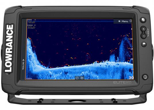 Das Display des EliteTi2bietet eine erweiterte, hochauflösende Sonar-Funktionalität,FishReveal, WLAN sowie die Anzeige von Anrufen und Textnachrichten per Bluetooth. Des Weiteren haben Sie die Möglichkeit über die NMEA2000-Konnektivität jegliche Art von Gebern anzuschließen und über die Seekartenanbieter Navionics oder C-Map sicher zu navigieren. Alles in allem enthält der Elite Ti2 sämtliche Funktionen, die Ihnen das Leben auf dem Wasser leichter machen. Lieferung ohne Geber. (Bild 6 von 8)