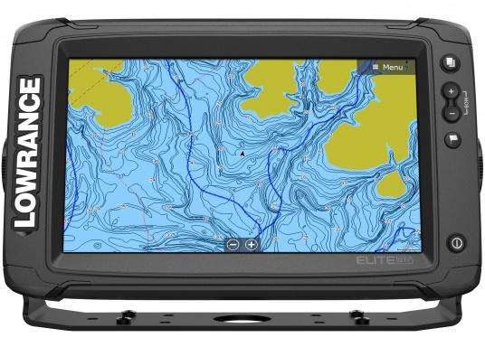 Das Display des EliteTi2bietet eine erweiterte, hochauflösende Sonar-Funktionalität,FishReveal, WLAN sowie die Anzeige von Anrufen und Textnachrichten per Bluetooth. Des Weiteren haben Sie die Möglichkeit über die NMEA2000-Konnektivität jegliche Art von Gebern anzuschließen und über die Seekartenanbieter Navionics oder C-Map sicher zu navigieren. Alles in allem enthält der Elite Ti2 sämtliche Funktionen, die Ihnen das Leben auf dem Wasser leichter machen. Lieferung ohne Geber. (Bild 2 von 8)