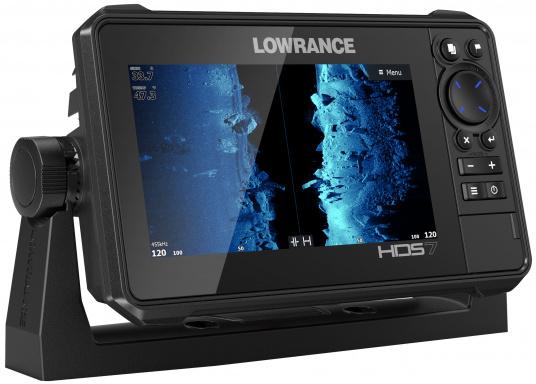 Der kompakte HDS-7 Live bietet Ihnen alle aktuellen Lowrance Fishfinder Funktionen mit Unterstützung fürActive Imaging™, LiveSight™ Echtzeit-Sonar, StructureScan® 3Dund Genesis Live Kartierung. Lieferung ohne Active Imaging 3-in-1 Geber. (Bild 3 von 6)