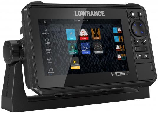 Der kompakte HDS-7 Live bietet Ihnen alle aktuellen Lowrance Fishfinder Funktionen mit Unterstützung fürActive Imaging™, LiveSight™ Echtzeit-Sonar, StructureScan® 3Dund Genesis Live Kartierung. Lieferung ohne Active Imaging 3-in-1 Geber. (Bild 5 von 6)