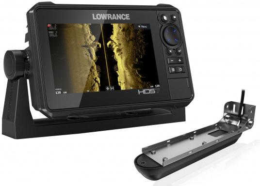 Der kompakte HDS-7 Live bietet Ihnen alle aktuellen Lowrance Fishfinder Funktionen mit Unterstützung fürActive Imaging™, LiveSight™ Echtzeit-Sonar, StructureScan® 3Dund Genesis Live Kartierung. Lieferung inklusive Active Imaging Geber.