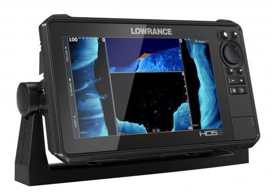 Der kompakte HDS-9 Live bietet Ihnen alle aktuellen Lowrance Fishfinder Funktionen mit Unterstützung fürActive Imaging™, LiveSight™ Echtzeit-Sonar, StructureScan® 3Dund Genesis Live Kartierung. Lieferung inklusive Active Imaging Geber. (Bild 2 von 9)