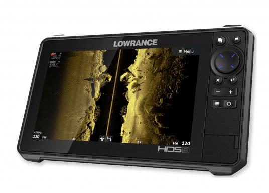 Der kompakte HDS-9 Live bietet Ihnen alle aktuellen Lowrance Fishfinder Funktionen mit Unterstützung fürActive Imaging™, LiveSight™ Echtzeit-Sonar, StructureScan® 3Dund Genesis Live Kartierung. Lieferung inklusive Active Imaging Geber. (Bild 4 von 9)
